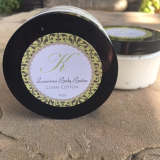 Body Butter Clean Cotton