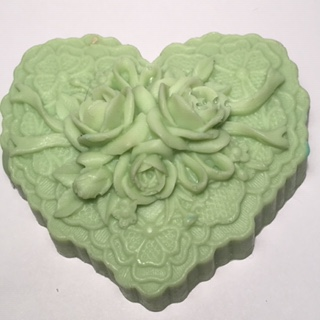 Soap Vic Heart Green